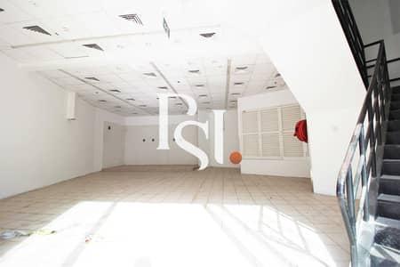 محل تجاري  للايجار في شارع الشيخ زايد، دبي - Best Size | Ground +  Mezzanine | Premium Location