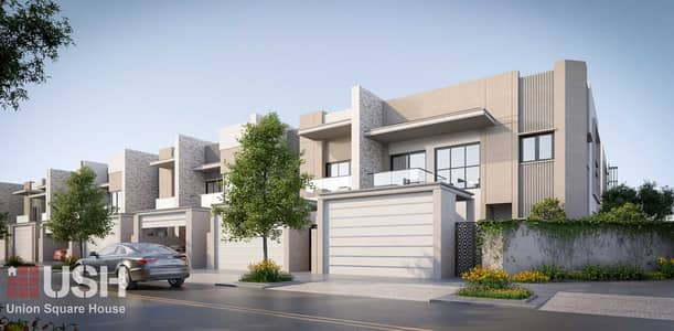 4 Bedroom Townhouse for Sale in Mohammed Bin Rashid City, Dubai - Maydan MAG Park Launch | G+2 with Elevator | Rooftop BBQ