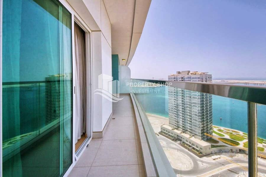 Move In Tranquil Sea View Apt  w/ Spacious Balcony!