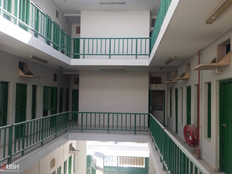 Independent Camp  54 room -216 person  Jebel Ali