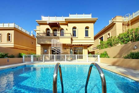 4 Bedroom Villa for Rent in Al Raha Golf Gardens, Abu Dhabi - 2 Payments | Prime Location | Private Pool | Family Room Available