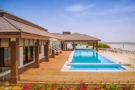 Elegant Duplex Finishing Villa with Beach Access