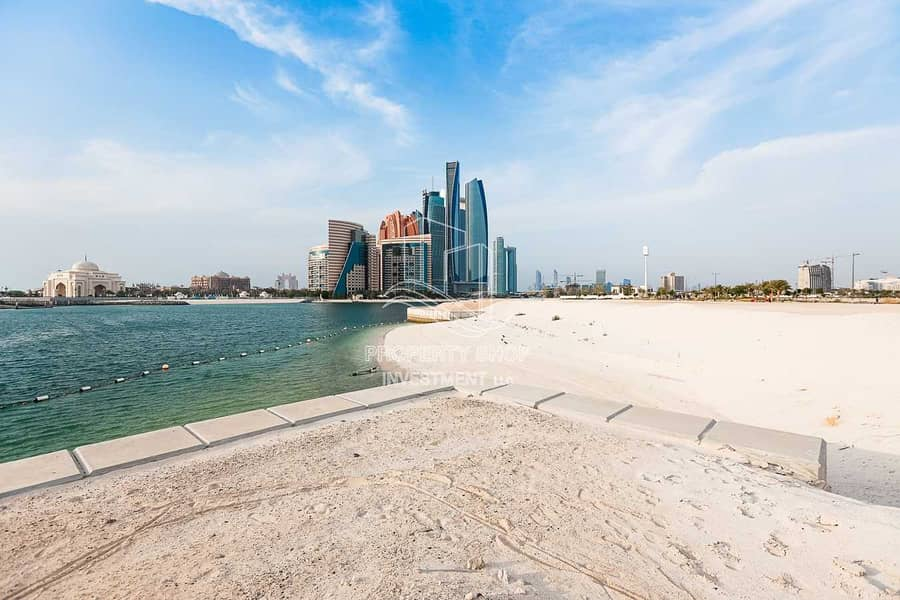 Own A Land with Garden View in the heart of Abu Dhabi City!