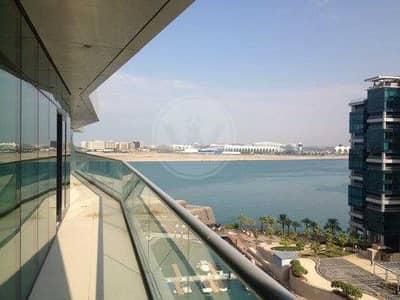 فلیٹ 2 غرفة نوم للبيع في شاطئ الراحة، أبوظبي - Lovely Corner Two Bed Unit  - Wrap Around Balcony