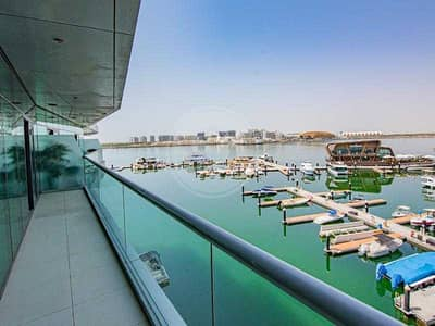 2 Bedroom Apartment for Rent in Al Raha Beach, Abu Dhabi - Stunning Marina views | Excellent waterfront home