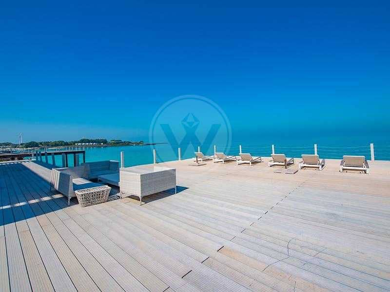Contemporary luxury directly on and over the sea!