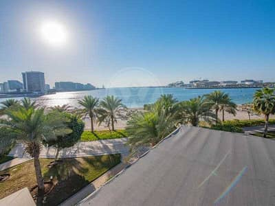 5 Bedroom Villa for Sale in Al Raha Beach, Abu Dhabi - Private pool | Luxury | Absolute beachfront villa