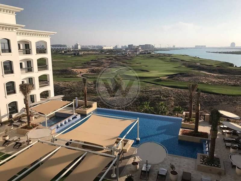 Sea and Golf course views |3 beds + maids