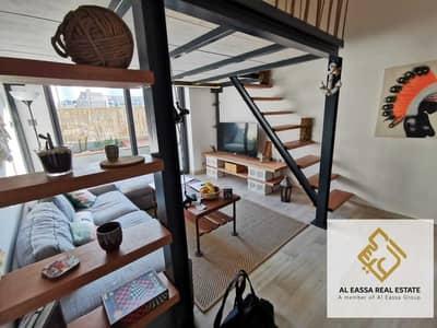 استوديو  للايجار في قرية جميرا الدائرية، دبي - SPACIOUS STUDIO LOFT|HIGH QUALITY| TERRACE
