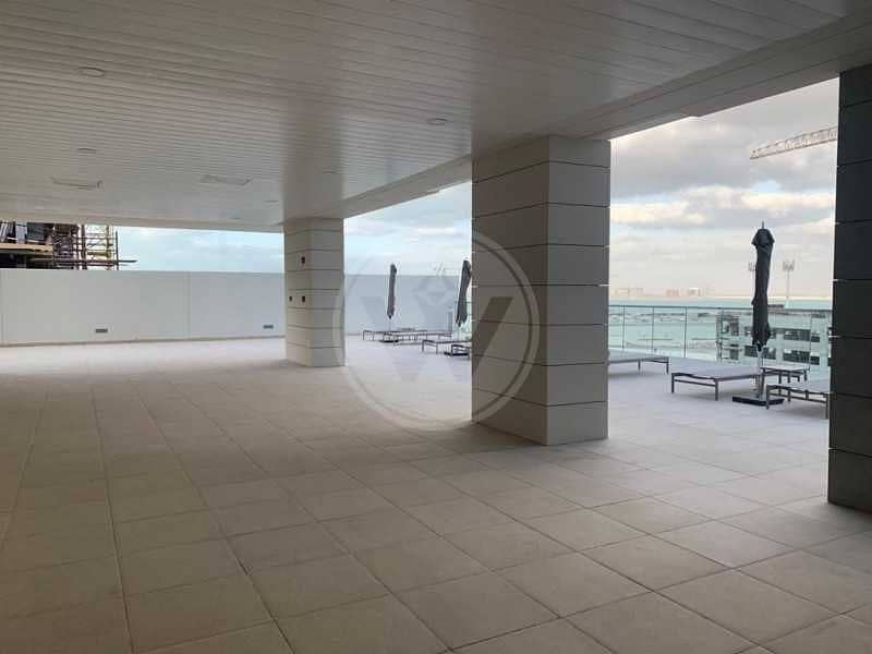 14 Super offer|13 months contract|Sea view|Maids room