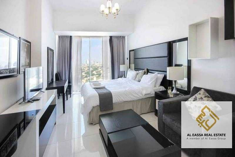 Fully Furnished  Elegant Studio, Golf Course view
