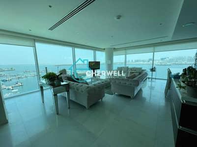 شقة 4 غرف نوم للبيع في شاطئ الراحة، أبوظبي - Sea View | Luxurious And Exquisive 4BR Apartment | Vacant