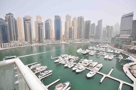 "4 Bedroom Flat for Sale in Dubai Marina, Dubai - ""Marina View | Upgraded 4 bedrooms| Spacious """