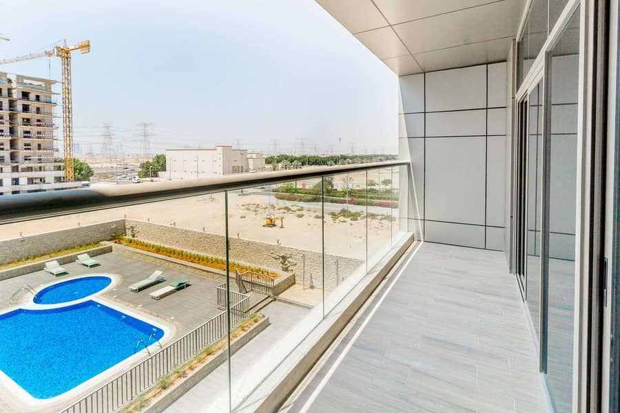 2 2 MONTHS FREE!! High Quality Finished 1 B/R Apartment with Big Balcony | Amazing Amenities | JVC