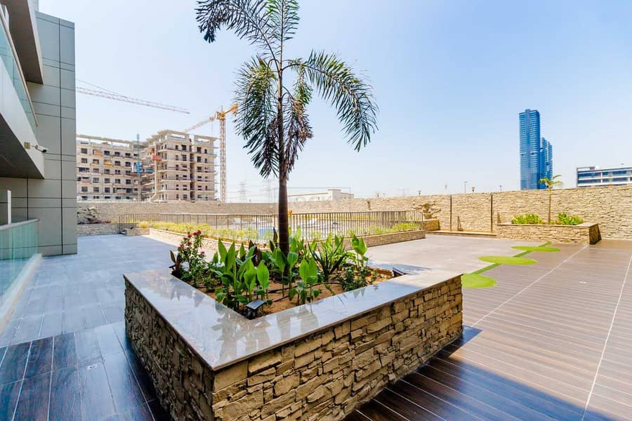16 2 MONTHS FREE!! 550 Sq. Ft. Studio with Equipped Kitchen |  Balcony with Pool View + Amazing Amenities | JVC