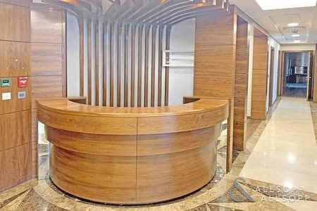 مکتب  للايجار في أبراج بحيرات الجميرا، دبي - Luxury Office   Lake Views   Next To Metro
