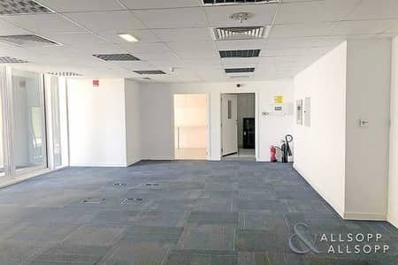 Office for Rent in Sheikh Zayed Road, Dubai - Fitted Office | Next To Metro | With Balcony