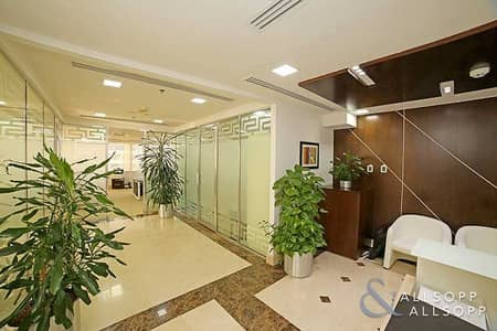 Office for Sale in Jumeirah Lake Towers (JLT), Dubai - High Floor | Fully Furnished | Luxury Fitout