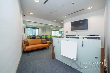 مکتب  للبيع في الخليج التجاري، دبي - Fitted Unit   Canal Views   Furnished Office