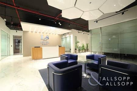 مکتب  للايجار في مركز دبي المالي العالمي، دبي - Fitted and Furnished | Luxury Office | DIFC
