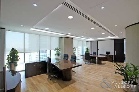 Office for Rent in Jumeirah Lake Towers (JLT), Dubai - Brand New Fit | Marble Flooring | Best In Class