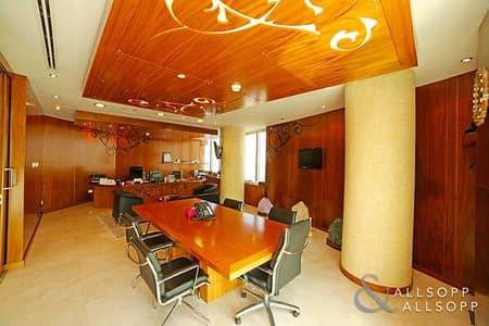 Office for Rent in Jumeirah Lake Towers (JLT), Dubai - Almas Tower | Very High Quality | Whole Floor