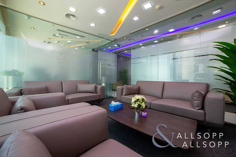 2 Furnished Office  2 Parking Spaces  High Floor