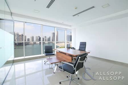 Office for Sale in Business Bay, Dubai - Furnished   Canal View   Vacant on transfer
