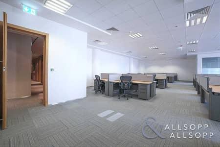 مکتب  للايجار في مركز دبي المالي العالمي، دبي - Grade A | Furnished & Fitted Office | DIFC