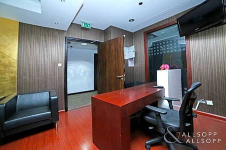 Office for Sale in Jumeirah Lake Towers (JLT), Dubai - Fitted | High Floor | Rented | 3 Parking