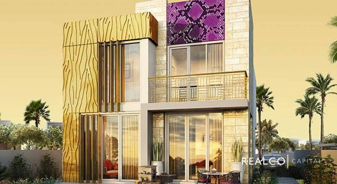 8 Just Cavalli Branded Villa  by Damac at Akoya Oxygen