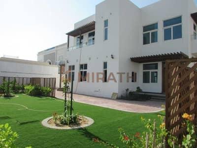 فیلا 5 غرف نوم للايجار في الممزر، دبي - INDEPENDENT HUGE 5BR VILLA WITH PRIVATE GARDEN