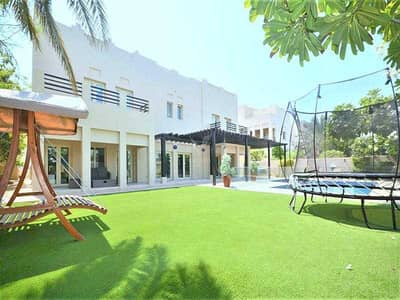 فیلا 5 غرف نوم للبيع في السهول، دبي - MEADOWS HATTAN L1 – FULL LAKE VIEW-PRIVATE POOL