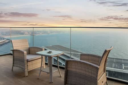 1 Bedroom Apartment for Sale in Bluewaters Island, Dubai - Stunning Sea View l Fully Firnished l Premium Unit