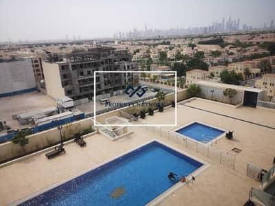 فلیٹ 1 غرفة نوم للايجار في مثلث قرية الجميرا (JVT)، دبي - Chiller Free I Pool and Townhouse view I Lowest