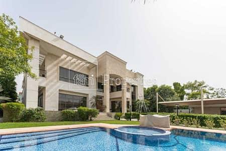 فیلا 6 غرف نوم للبيع في القرهود، دبي - Luxurious Corner Villa 6 Bedroom With Pool & Garden