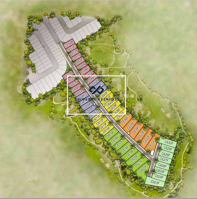 8 Golf-facing plots at DAMAC Hills