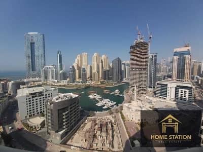 شقة 3 غرف نوم للايجار في دبي مارينا، دبي - Capacious 3B/R+2Storage Modish layout Marina views