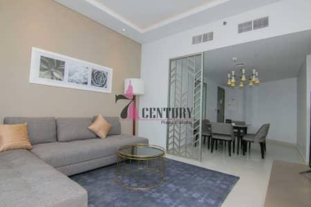 فلیٹ 1 غرفة نوم للبيع في الخليج التجاري، دبي - Fully Furnished   High Floor   1 Bedroom Apt
