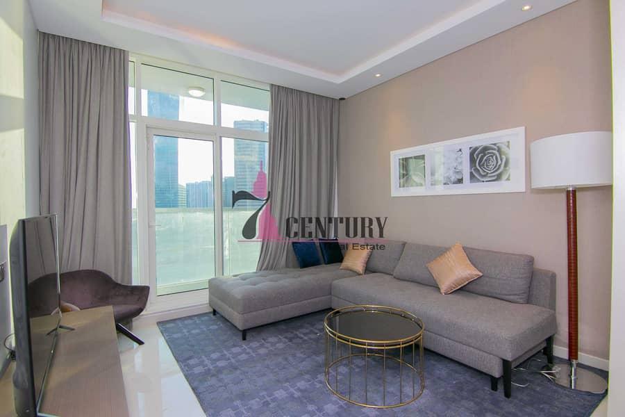 2 High Floor   1 Bedroom Apt   With 2 Balconies