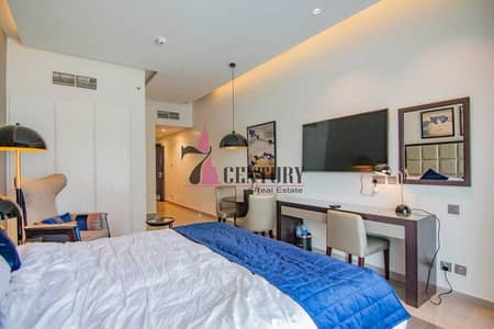 Studio for Rent in Business Bay, Dubai - Spacious Size   Studio   Furnished   With Balcony