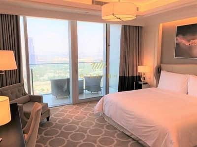 4 Bedroom Flat for Rent in Downtown Dubai, Dubai - Stunning Burj Khalifa & Community View |4 Bed+M