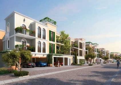 تاون هاوس 5 غرف نوم للبيع في جميرا، دبي - Rare unit| Large plot | Panoramic sea view