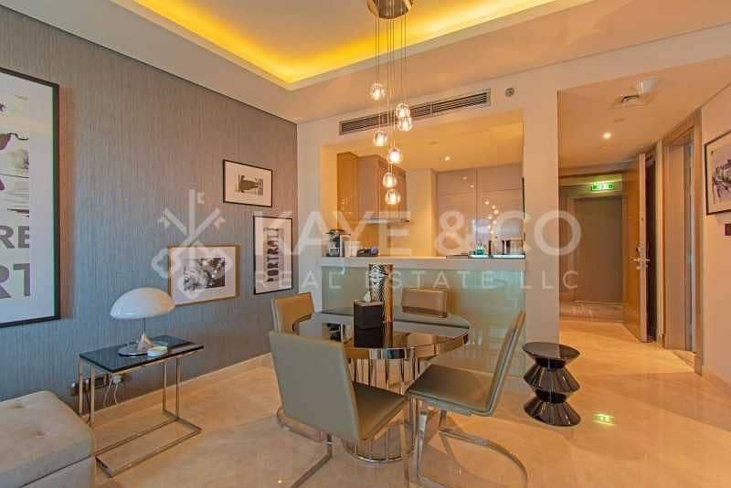2 Mid Floor | Pool View | Service Apartment | Furnished