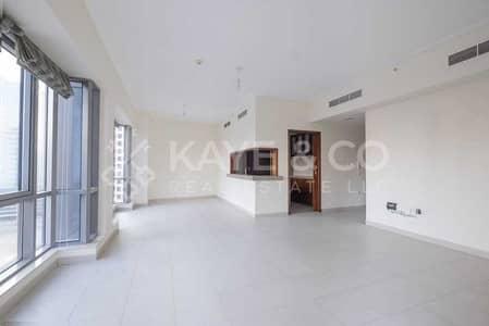 شقة 2 غرفة نوم للايجار في وسط مدينة دبي، دبي - Large Aparment | Burj Khalifa View | Low Floor