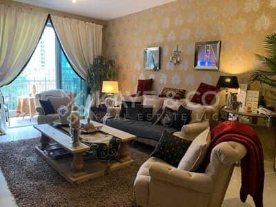 شقة 1 غرفة نوم للايجار في وسط مدينة دبي، دبي - Lavishly Furnished | Pool View | Chiller Free