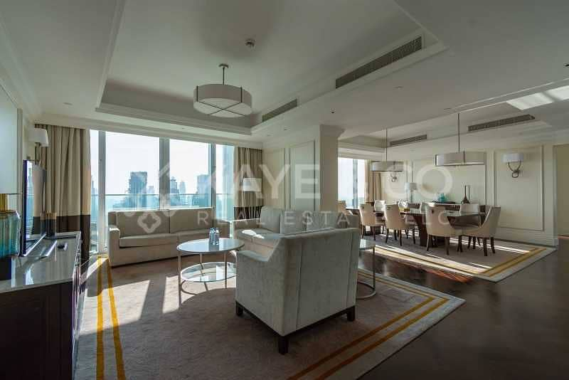 2 DIFC and Sea View   High Floor   Fully Furnished