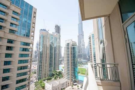 1 Bedroom Flat for Rent in Downtown Dubai, Dubai - Brand New  Burj Khalifa and Downtown View  Balcony