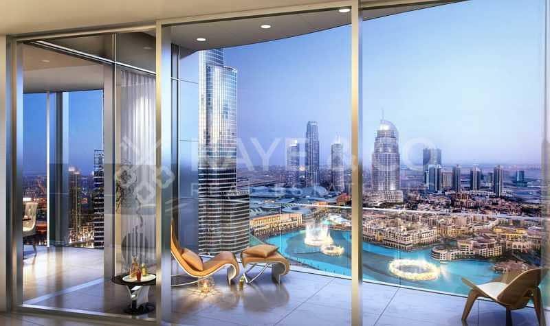 Luxury 4 Bedrooms in Il Primo | Downtown Dubai