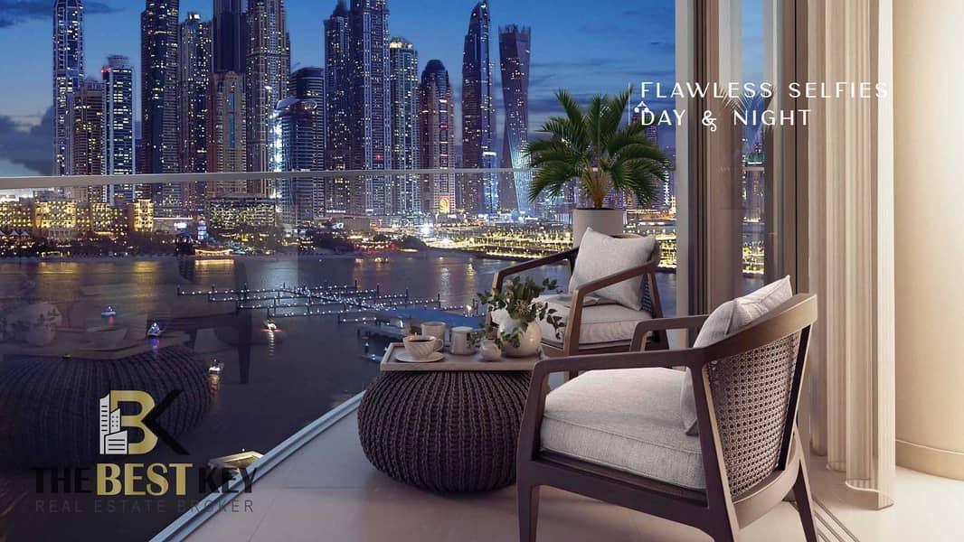 شقة في سانرايز باي إعمار الواجهة المائية دبي هاربور 3 غرف 4973888 درهم - 5144985
